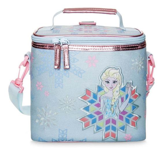 Lunchera Frozen Disney Store! Etiqueta Original!