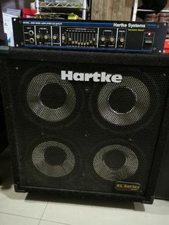 Amplificador Para Bajo Hartke Modelo 2000 C/cabinetxlseries