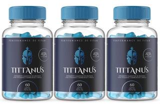 Tittanus Caps 3 Potes Oferta Aumento Da Testosterona