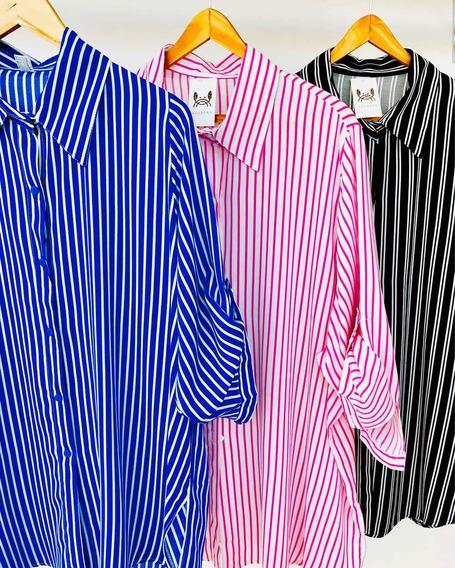 Camisas De Fibrana Talles Grandes