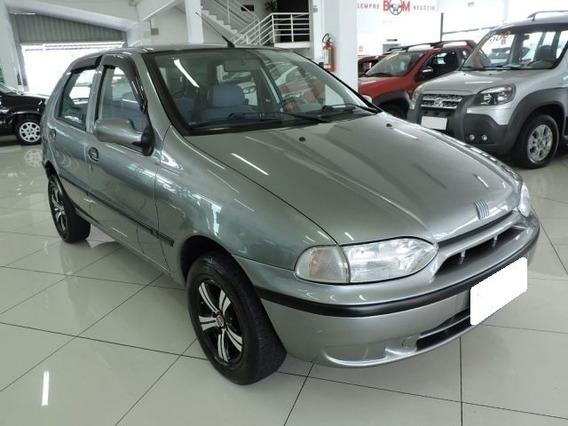 Fiat Palio Ex 1.0 Cinza 8v Gasolina 4p 1999