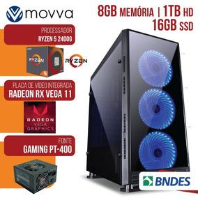 Computador Gamer Amd Ryzen 5 3.6ghzmem. 8gb Hd 1tb Ssd 16gb