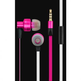 In Ear Headset Stereo Áudio Wired