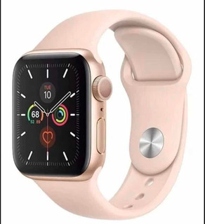 Iwo 12 Smartwatch Relógio Inteligente Iwo12 40mm Rose Ios