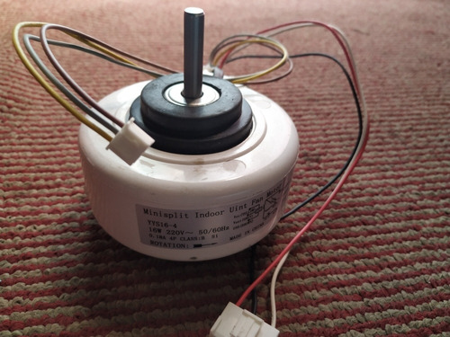 Motor Ventilador De Consola Yys16-4-pg 16w De 220v A/a Split