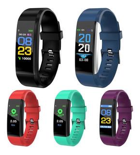 Reloj Pulsera Inteligente Id115 Plus Smartwatch Deporte