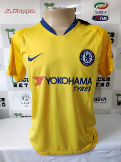 Camisa Chelsea 2018-19 Giroud Patchs Europa League A P/ Entr