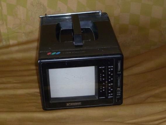 Mini Tv Televisão Broksonic 5 Polegadas Colorida Anos 90