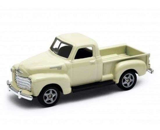 Miniatura Chevrolet 3100 Pickup - Creme - 1:60 - Welly