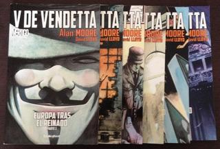 Comic Marvel: V De Vendetta, Completa. Ed. Unlimited