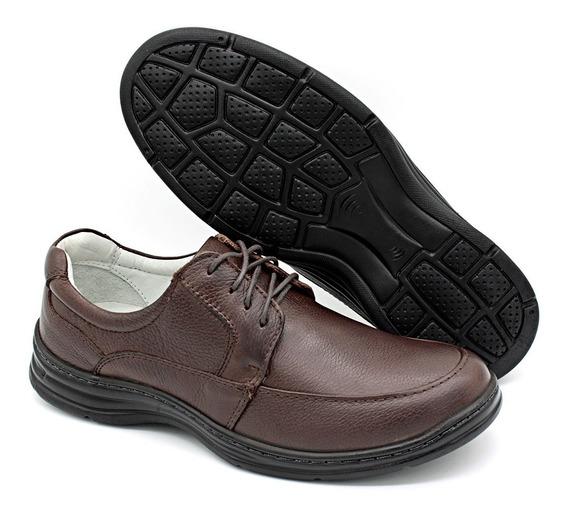 Sapato Masculino Confort Plus Couro Bmbrasil 2712