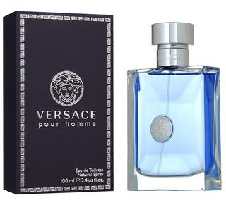 Perfume Versace Pour Homme De Versace Edt 100ml Nuevo