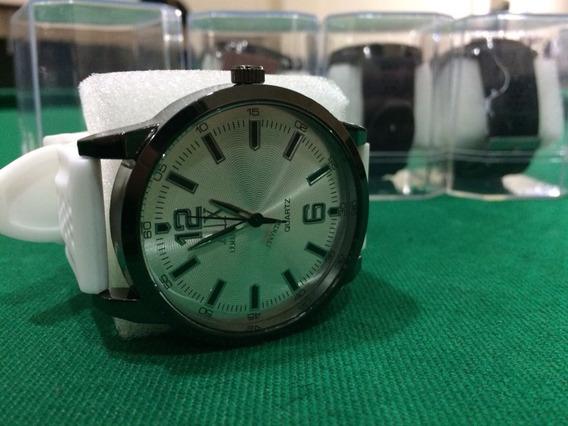 Relógio De Pulso Pulseira Silicone