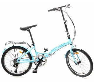 Bicicleta Plegable Aluminio R20