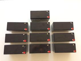 Kit 10 Acumuladores 12v 7ah Selada Bateria Nacional