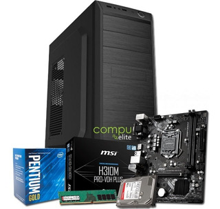 Pc Armado | Intel Pentium G5400 + H310 + 8gb + 1tb + Kit