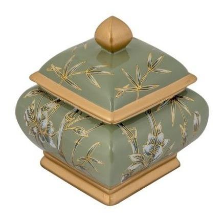 Caixa Decorativa De Porcelana - Exclusiva