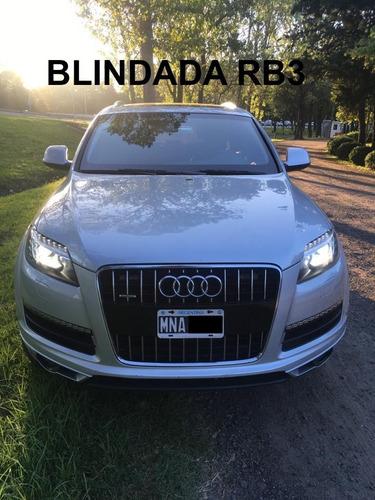 Audi Q7 3.0 Tdi 240cv Tiptronic Quattro Blindado Rb3