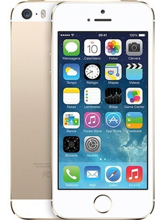 iPhone 5s 32gb Dourado Original Apple 4g Usado Sembiometria
