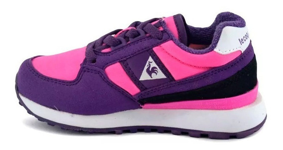 Zapatillas Le Coq Sportif Eclat 90 Jr Pink - Violet Niña 7405