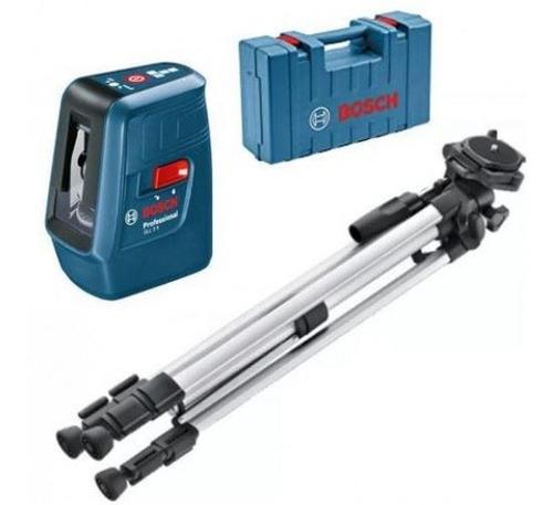 Imagen 1 de 4 de Nivel Laser Bosch 15mts C/tripode Y Maletin Bosch- Ynter Idu