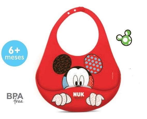 Babador Nuk Disney Britto 100% Silicone Mickey