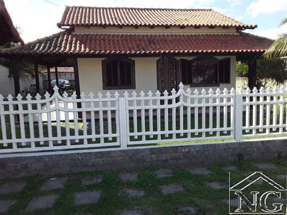 Casa Térrea Com Quintal Na Vilatur Em Saquarema Rj - Ngf120