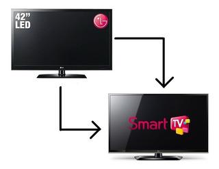 Cambio De Led O Lcd A Smart Tv (sin Aparatos Externos)
