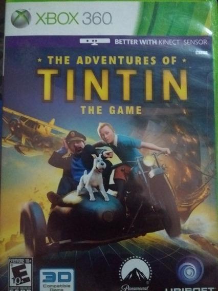 As Aventuras De Tintin - The Game - Xbox 360 Original