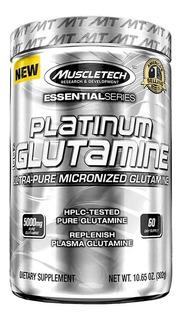 Glutamina Muscletech Platinum 302g Micronizada Ultra Pura