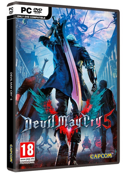 Devil May Cry 5 Deluxe Edition Pc Dvd Frete Grátis