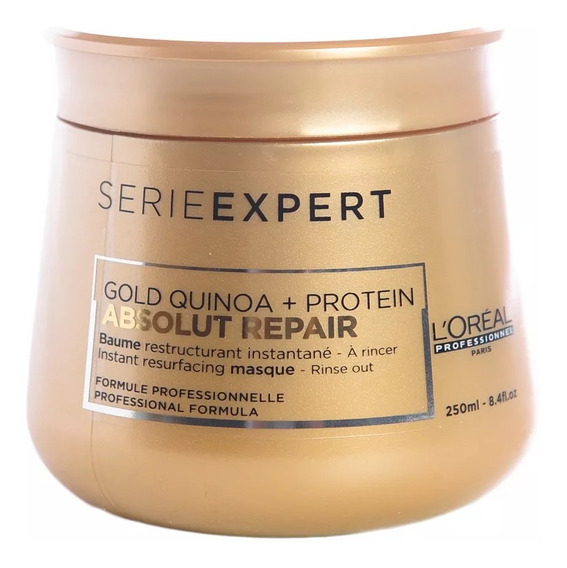 Loreal Absolut Repair Gold Quinoa Máscara X250 Local