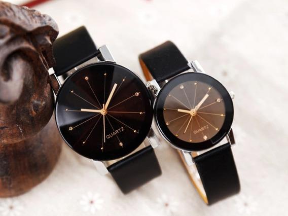 Relógios Quartz Fino De Luxo - Masculino E Feminino