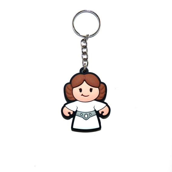 Chaveiro Princesa Leia Emborrachado