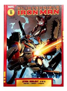 Invencible Iron Man 11 - Stark Resilient - Ed. Ovni Press