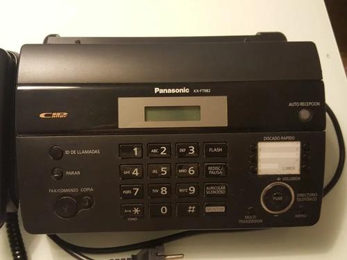 Imagen 1 de 3 de Fax Panasonic Kx-ft 988