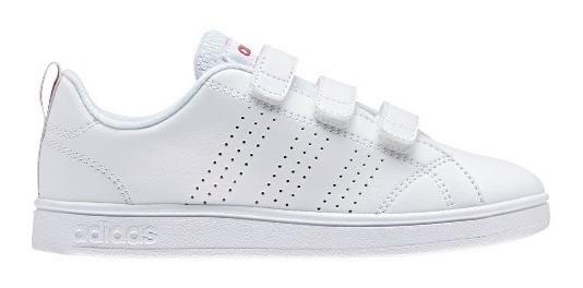 Zapatillas adidas Vs Advantage Clean Con Abrojo De Niños