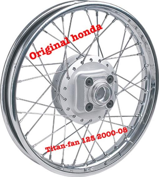 Roda Montada Moto Titan- Fan 125 2000-08 Original