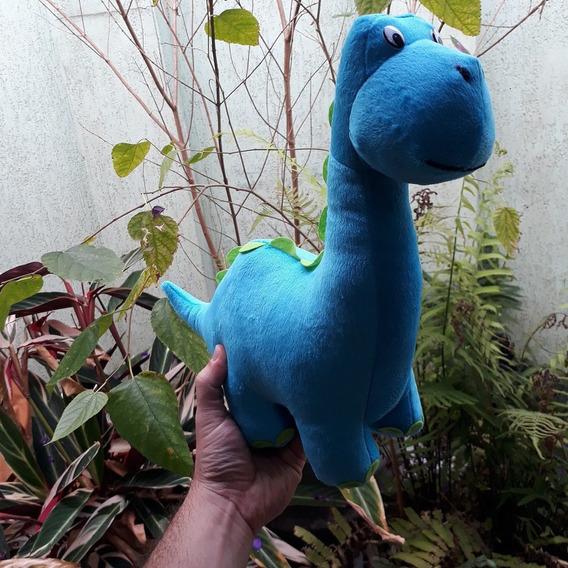 Dinossauro Dino Azul Pelúcia 32cm Decoração Presente Festa