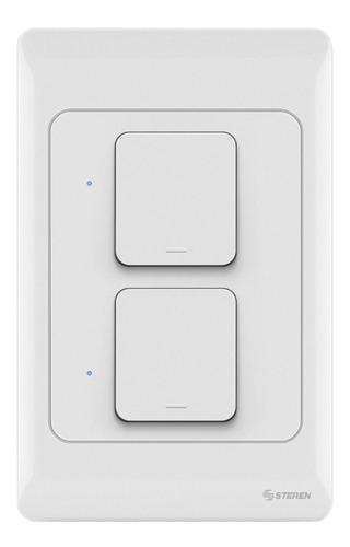 Apagador Doble Wi-fi O Manual Contacto Wifi Celular Internet
