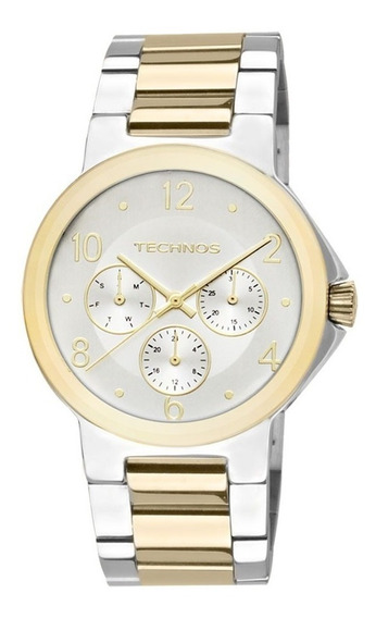 Relógio Technos Feminino Elegance St. Moritz 6p29zt/5k