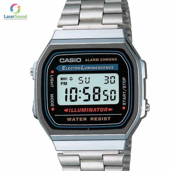 Relógio Casio Feminino Digital Vintage Prata Original + Nf