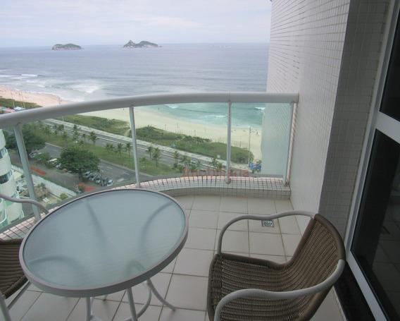 Ótimo Apartamento De 50 M² Em Flat Na Av. Lucio Costa, Em Um Dos Melhores Pontos Da Praia Da Barra Da Tijuca, Imóvel Em Andar Bem Alto. - Ap00980 - 33660802