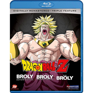 Dragon Ball Z Broly Triple Feature Blu-ray