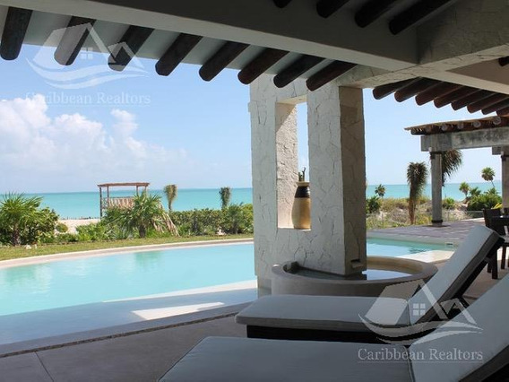 Lujosa Residencia En Venta A Orilla De La Playa En Cancun @caribbeanrealtors