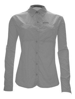 Guepardo Vb1500 Camisa Trek Fish Feminina Gelo Tamanho P