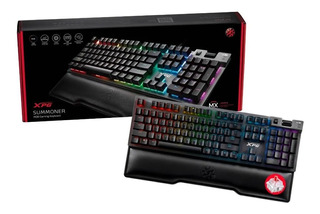 Teclado Mecanico Gaming Xpg Summoner Rgb Cherry Mx Red