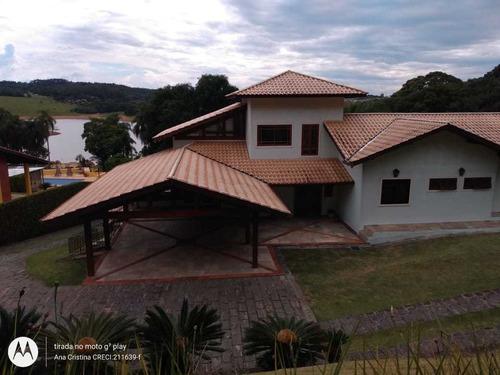 Chácara Em Condomínio - Fundo Para Represa - Cód.129