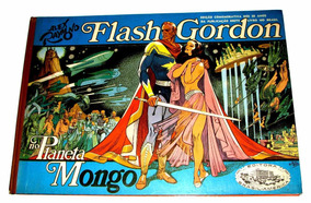 Hq Flash Gordon No Planeta Mongo Vol 1 - Formatão - 50 Anos