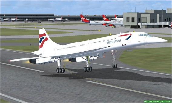 Pacote De Aeronaves Flight Simulator X ( Fsx ) E Prepar3d